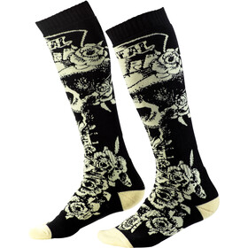 O'Neal Pro MX Chaussettes, tophat-black/beige